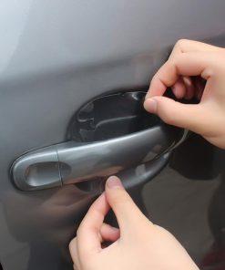 sticker ติดที่จับประตูรถ